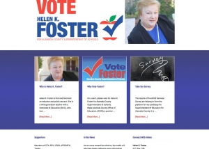Helen K. Foster home page